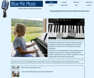 www.bluemicmusic.co.uk - Music Services